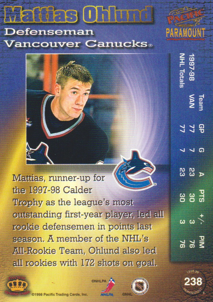 1998-99-Paramount-Copper-Parallel-Hockey-Cards-Pick-From-List thumbnail 53