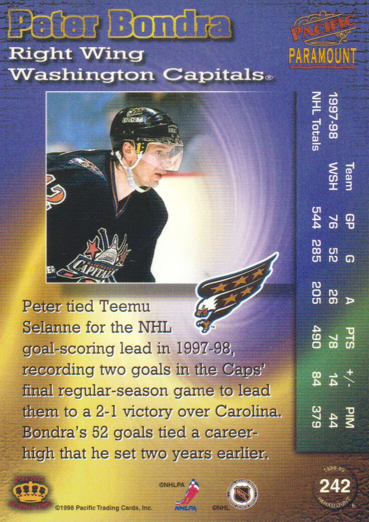 1998-99-Paramount-Copper-Parallel-Hockey-Cards-Pick-From-List thumbnail 55