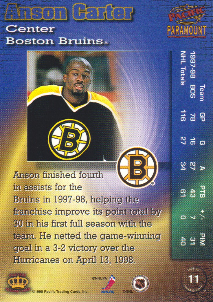 1998-99-Paramount-Emerald-Parallel-Hockey-Cards-Pick-From-List thumbnail 5