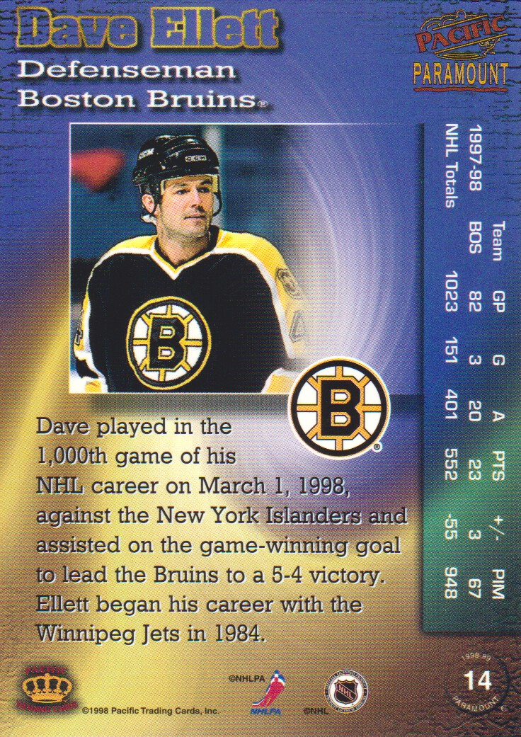 1998-99-Paramount-Emerald-Parallel-Hockey-Cards-Pick-From-List thumbnail 7