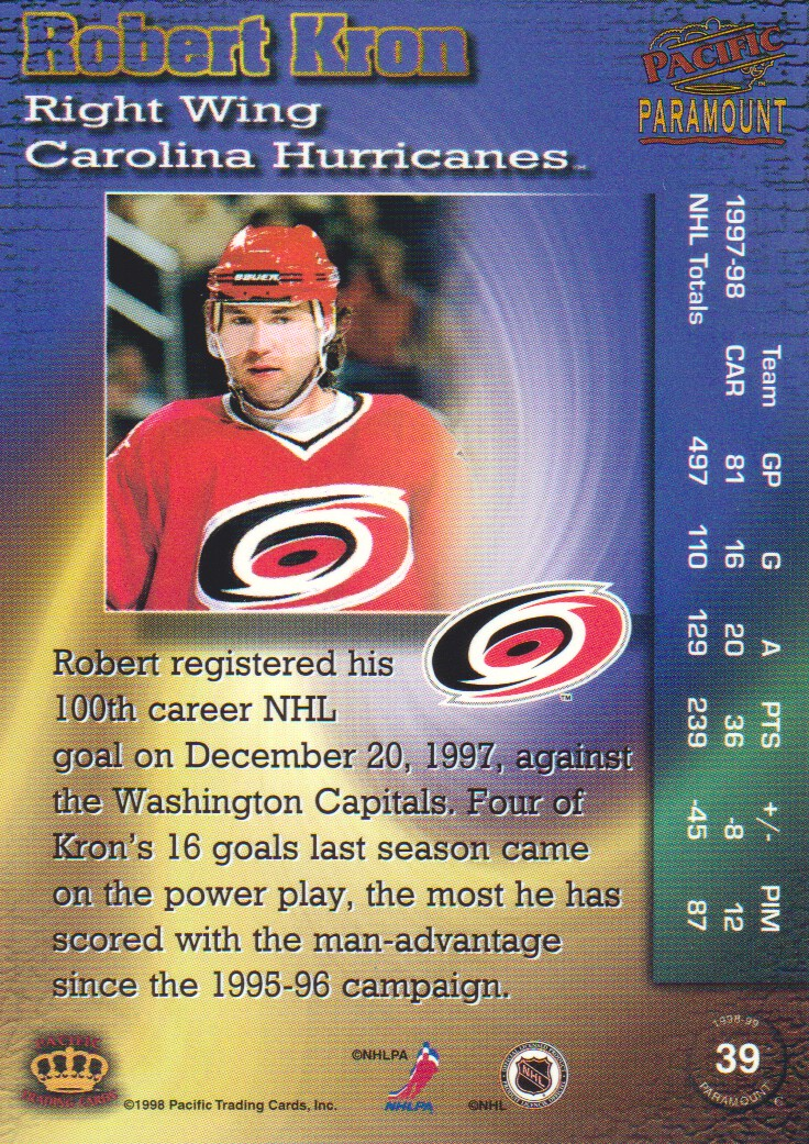1998-99-Paramount-Emerald-Parallel-Hockey-Cards-Pick-From-List thumbnail 9