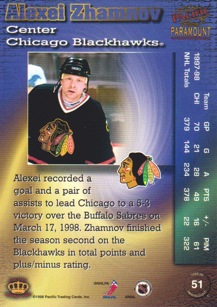 1998-99-Paramount-Emerald-Parallel-Hockey-Cards-Pick-From-List thumbnail 11