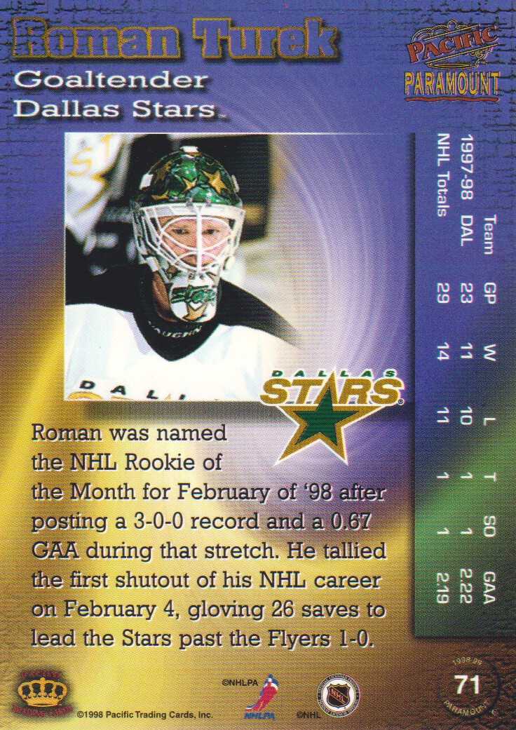 1998-99-Paramount-Emerald-Parallel-Hockey-Cards-Pick-From-List thumbnail 15