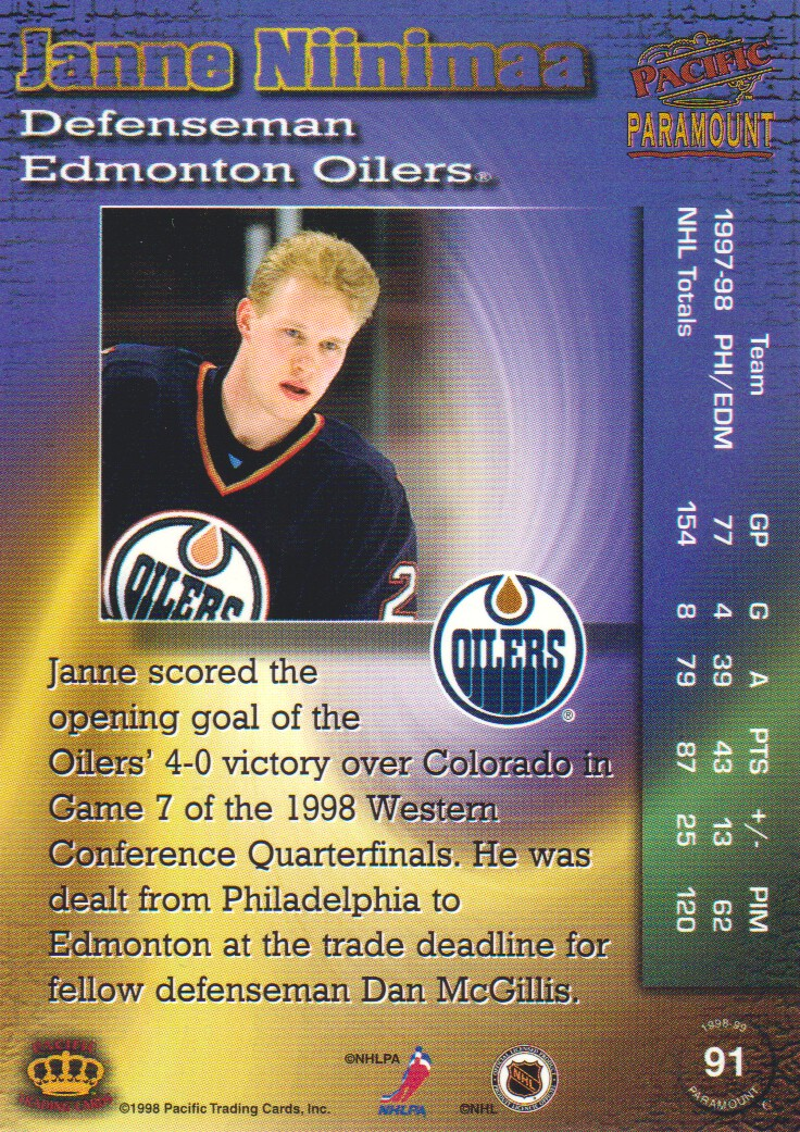 1998-99-Paramount-Emerald-Parallel-Hockey-Cards-Pick-From-List thumbnail 19