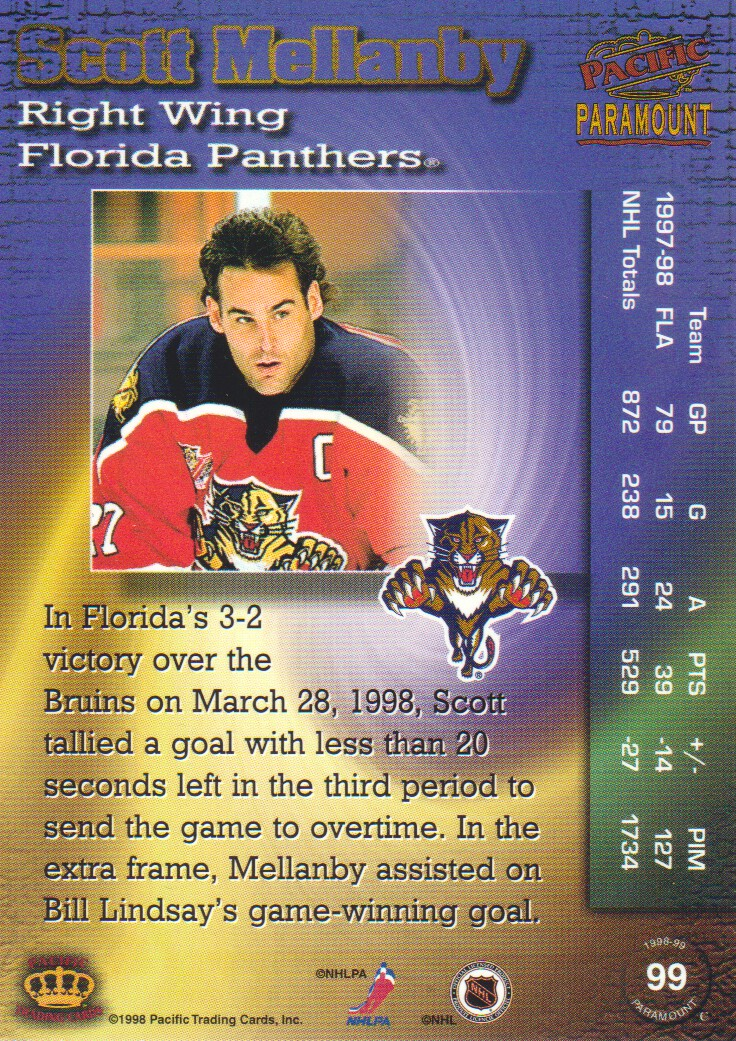 1998-99-Paramount-Emerald-Parallel-Hockey-Cards-Pick-From-List thumbnail 21