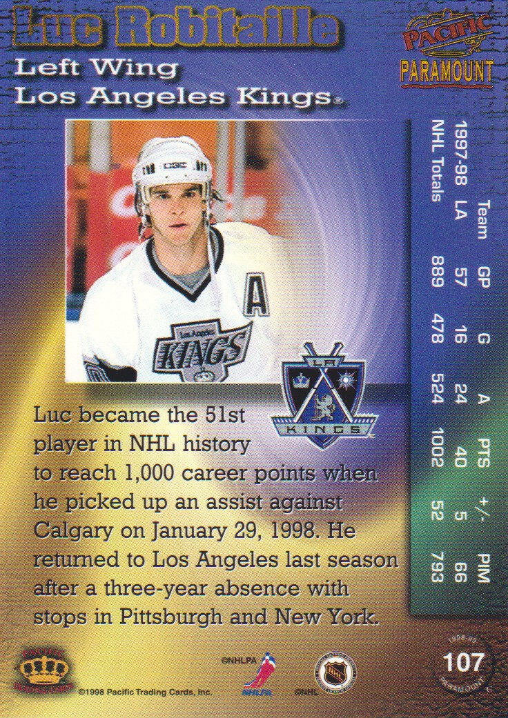 1998-99-Paramount-Emerald-Parallel-Hockey-Cards-Pick-From-List thumbnail 23