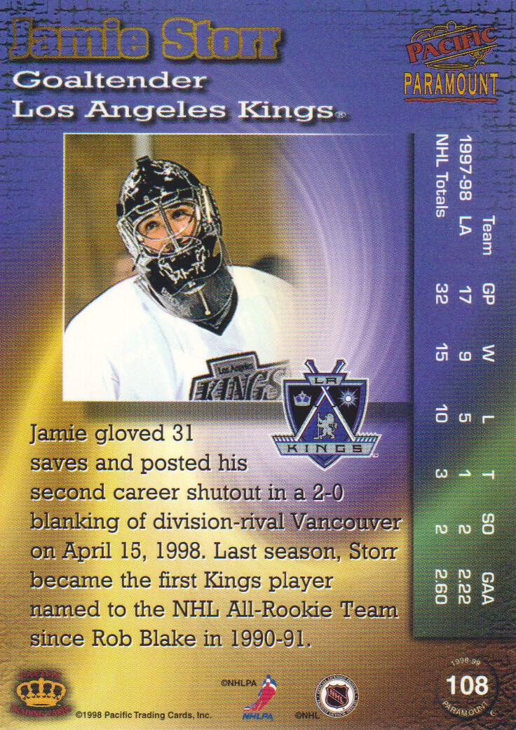 1998-99-Paramount-Emerald-Parallel-Hockey-Cards-Pick-From-List thumbnail 25
