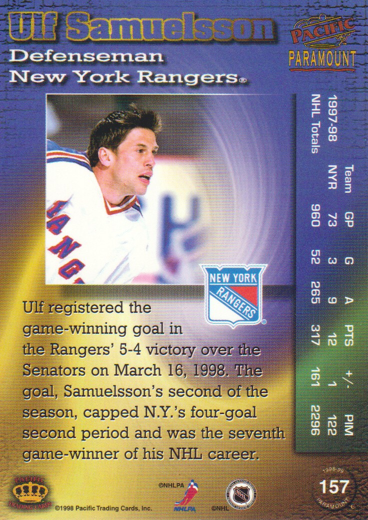 1998-99-Paramount-Emerald-Parallel-Hockey-Cards-Pick-From-List thumbnail 37