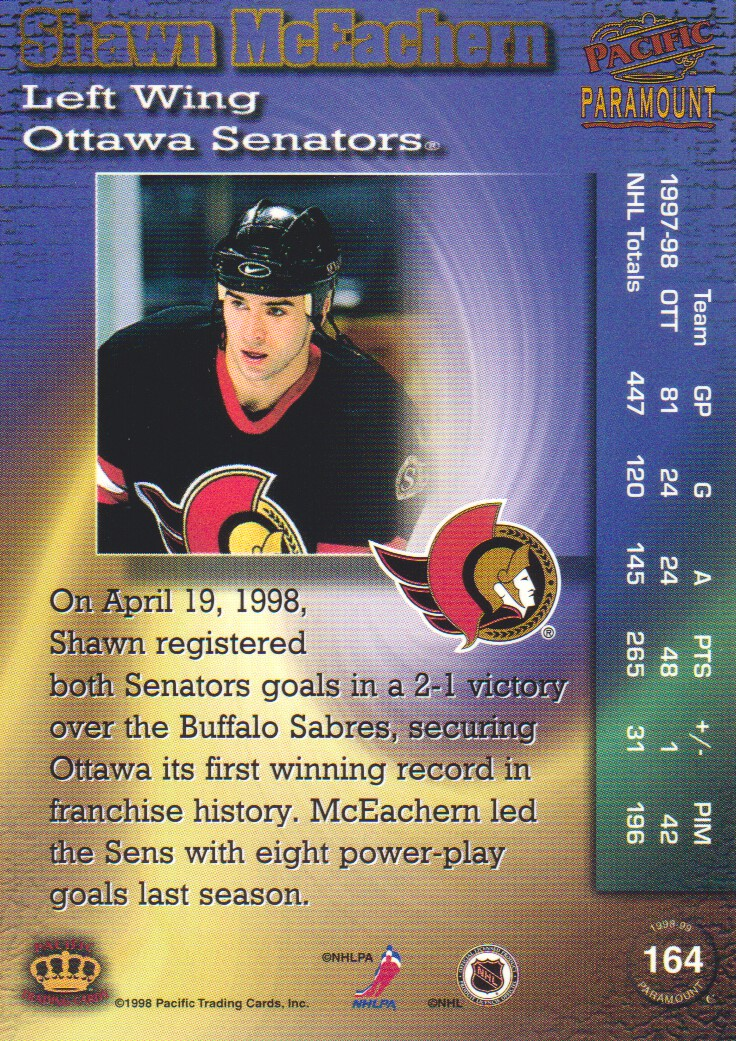 1998-99-Paramount-Emerald-Parallel-Hockey-Cards-Pick-From-List thumbnail 39