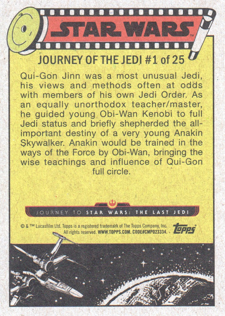 2017-Topps-Star-Wars-Journey-to-The-Last-Jedi-Trading-Cards-Pick-From-List miniature 3