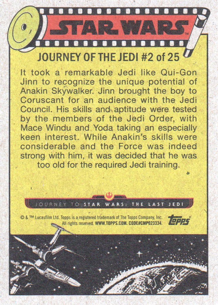 2017-Topps-Star-Wars-Journey-to-The-Last-Jedi-Trading-Cards-Pick-From-List miniature 5