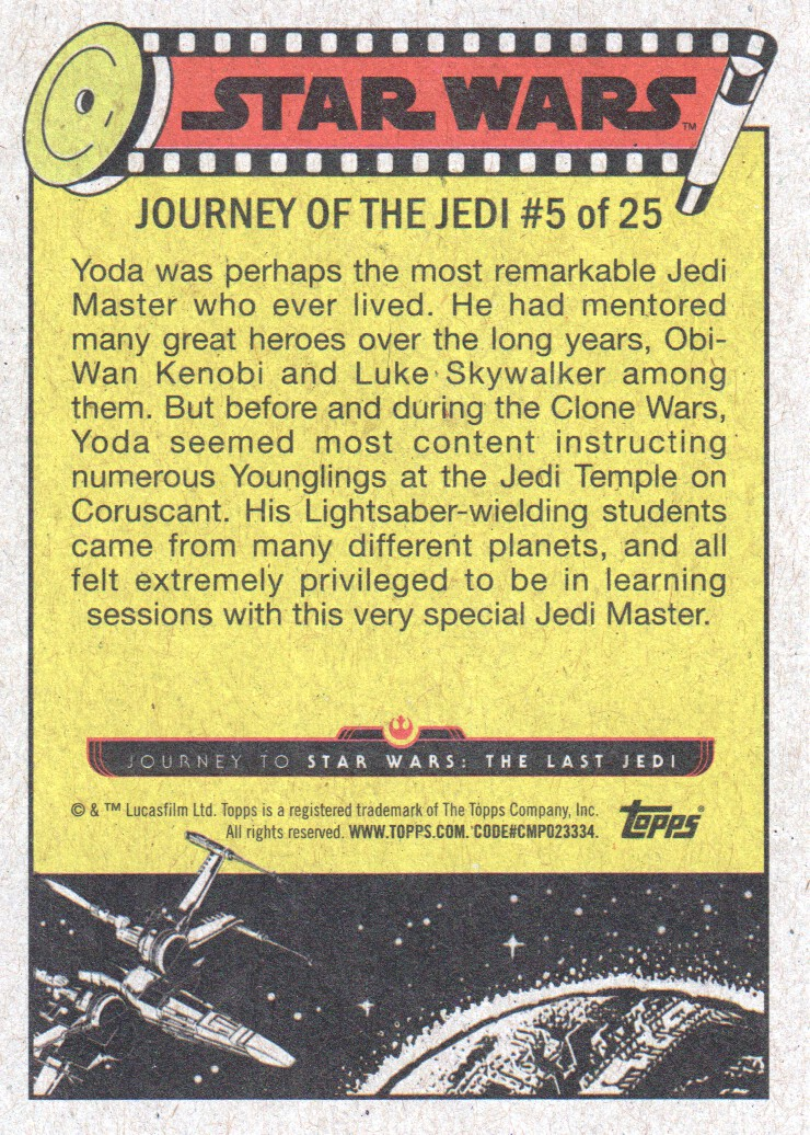 2017-Topps-Star-Wars-Journey-to-The-Last-Jedi-Trading-Cards-Pick-From-List miniature 11