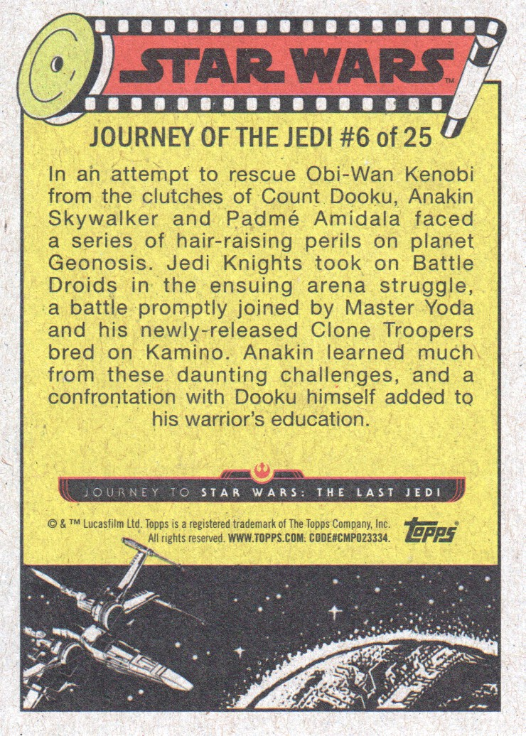 2017-Topps-Star-Wars-Journey-to-The-Last-Jedi-Trading-Cards-Pick-From-List miniature 13