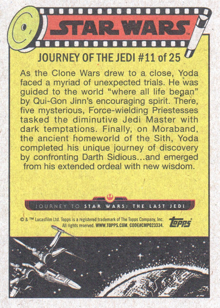 2017-Topps-Star-Wars-Journey-to-The-Last-Jedi-Trading-Cards-Pick-From-List miniature 23