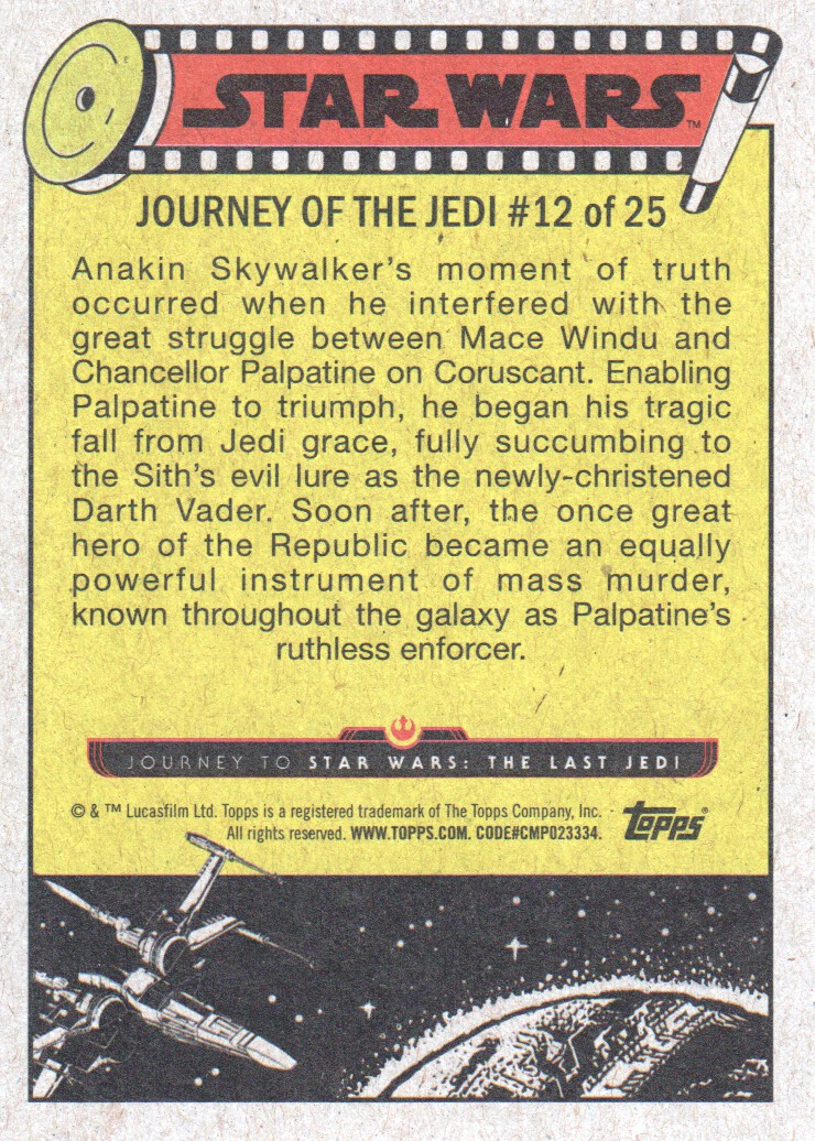 2017-Topps-Star-Wars-Journey-to-The-Last-Jedi-Trading-Cards-Pick-From-List miniature 25