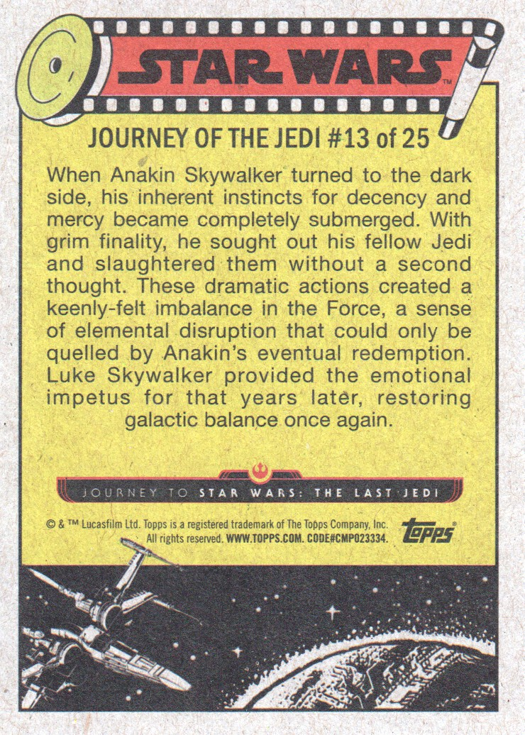 2017-Topps-Star-Wars-Journey-to-The-Last-Jedi-Trading-Cards-Pick-From-List miniature 27