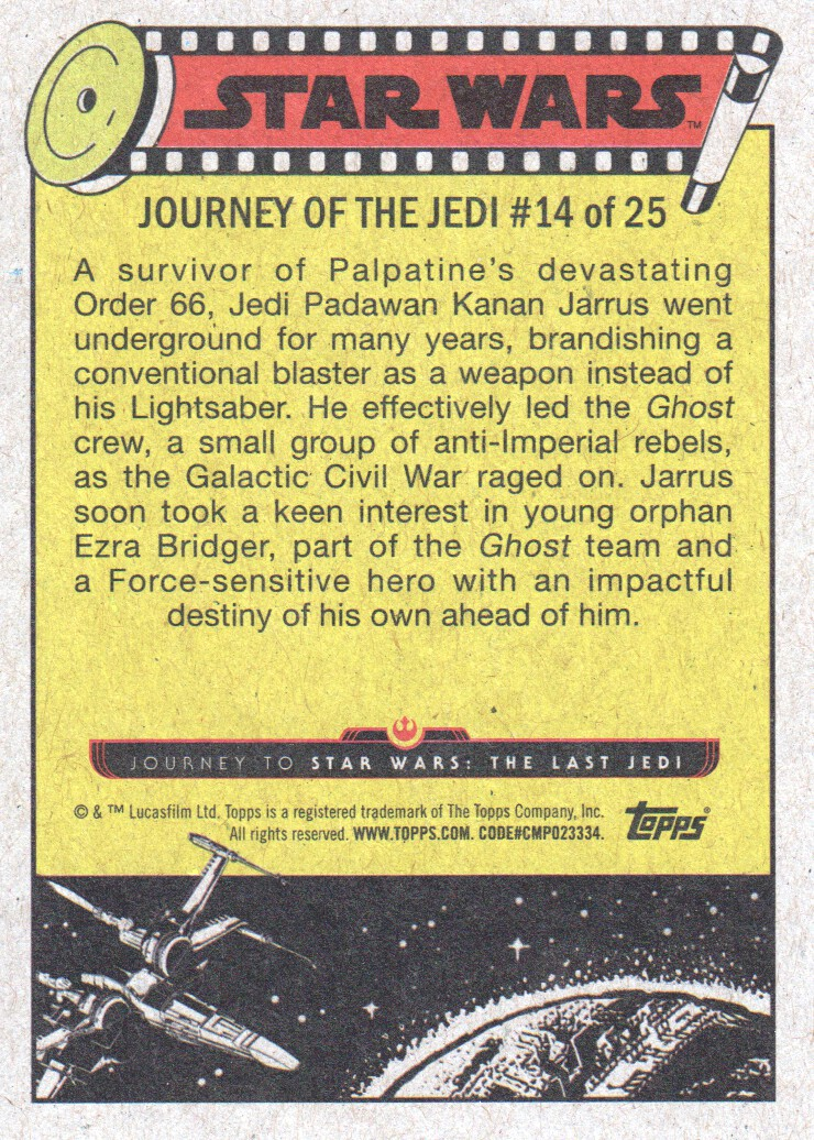 2017-Topps-Star-Wars-Journey-to-The-Last-Jedi-Trading-Cards-Pick-From-List miniature 29