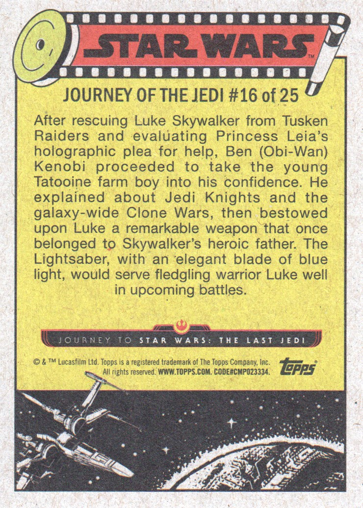 2017-Topps-Star-Wars-Journey-to-The-Last-Jedi-Trading-Cards-Pick-From-List miniature 33