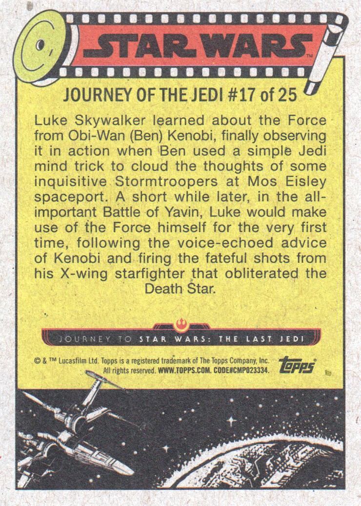 2017-Topps-Star-Wars-Journey-to-The-Last-Jedi-Trading-Cards-Pick-From-List miniature 35