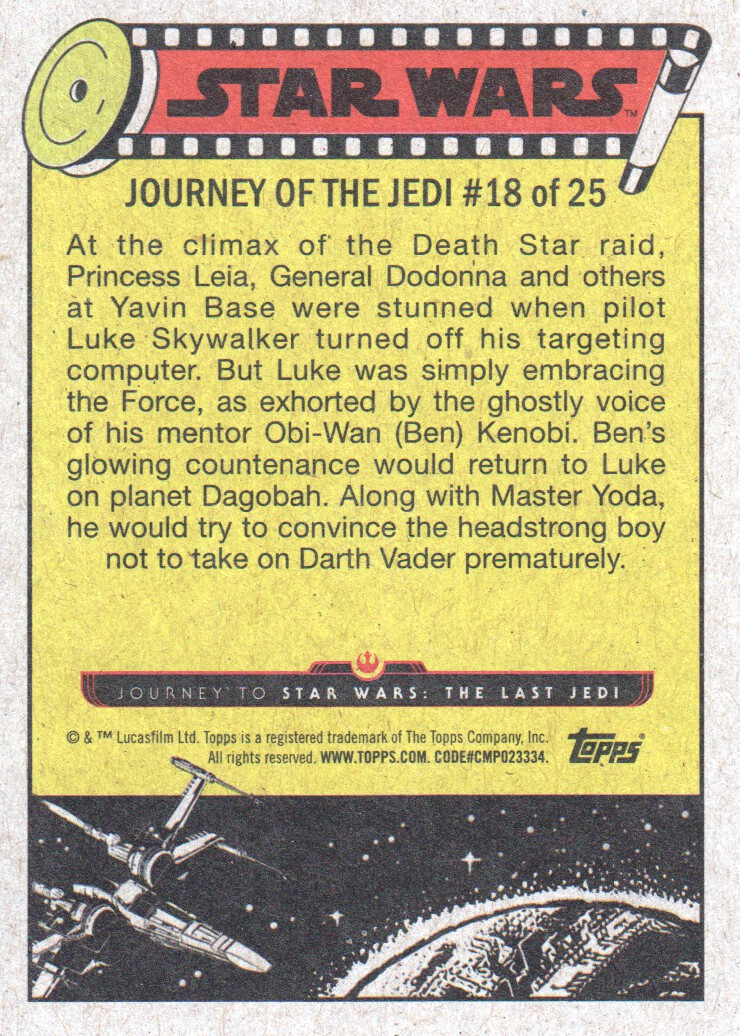 2017-Topps-Star-Wars-Journey-to-The-Last-Jedi-Trading-Cards-Pick-From-List miniature 37