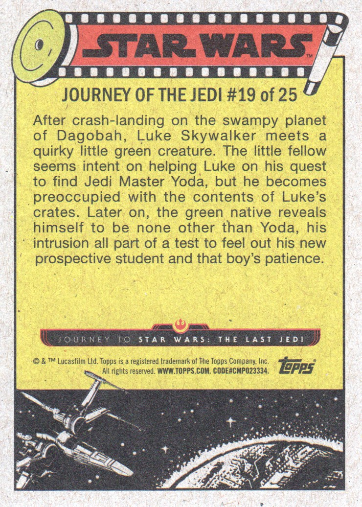 2017-Topps-Star-Wars-Journey-to-The-Last-Jedi-Trading-Cards-Pick-From-List miniature 39