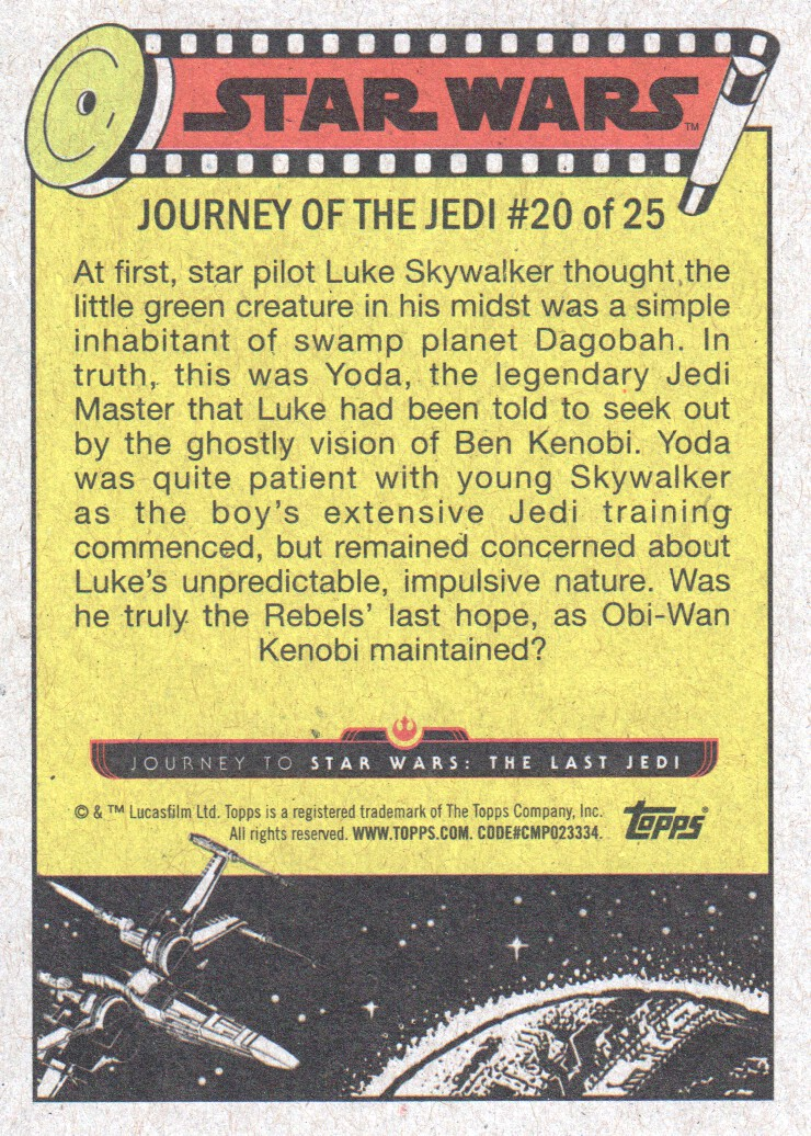 2017-Topps-Star-Wars-Journey-to-The-Last-Jedi-Trading-Cards-Pick-From-List miniature 41