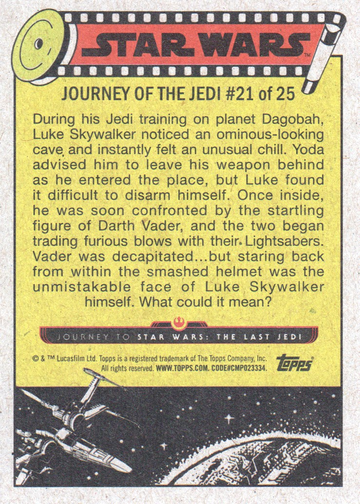 2017-Topps-Star-Wars-Journey-to-The-Last-Jedi-Trading-Cards-Pick-From-List miniature 43