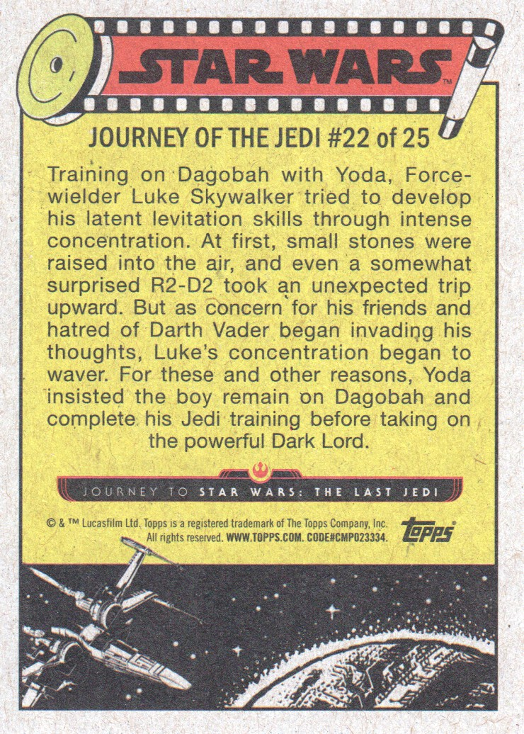 2017-Topps-Star-Wars-Journey-to-The-Last-Jedi-Trading-Cards-Pick-From-List miniature 45