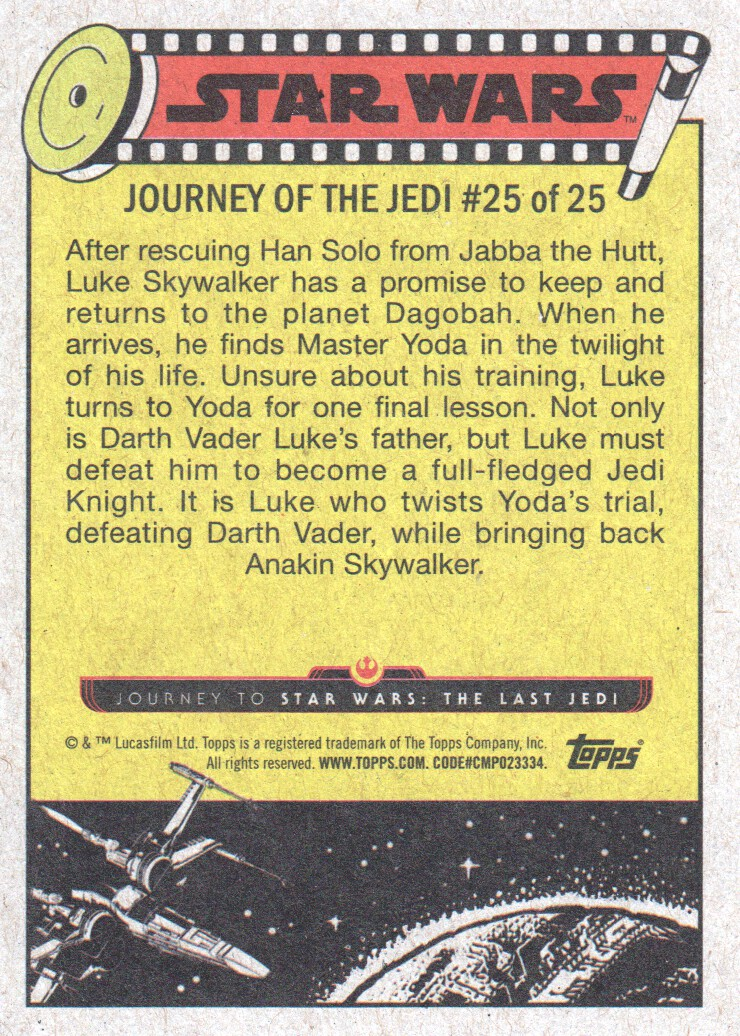 2017-Topps-Star-Wars-Journey-to-The-Last-Jedi-Trading-Cards-Pick-From-List miniature 51