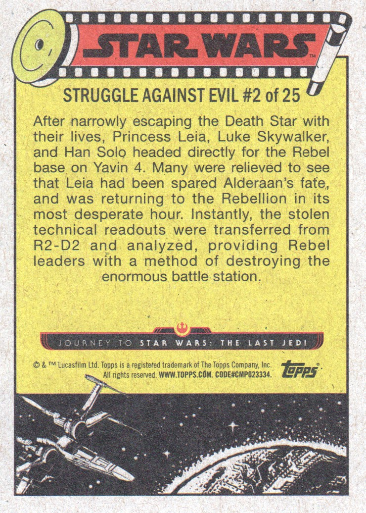 2017-Topps-Star-Wars-Journey-to-The-Last-Jedi-Trading-Cards-Pick-From-List miniature 55