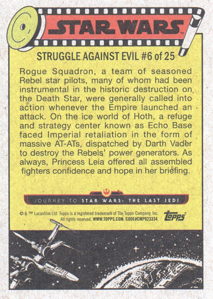 2017-Topps-Star-Wars-Journey-to-The-Last-Jedi-Trading-Cards-Pick-From-List miniature 63