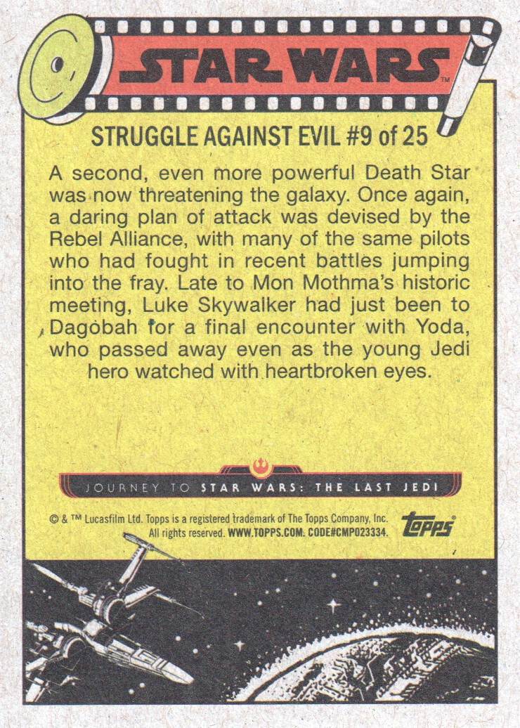 2017-Topps-Star-Wars-Journey-to-The-Last-Jedi-Trading-Cards-Pick-From-List miniature 69
