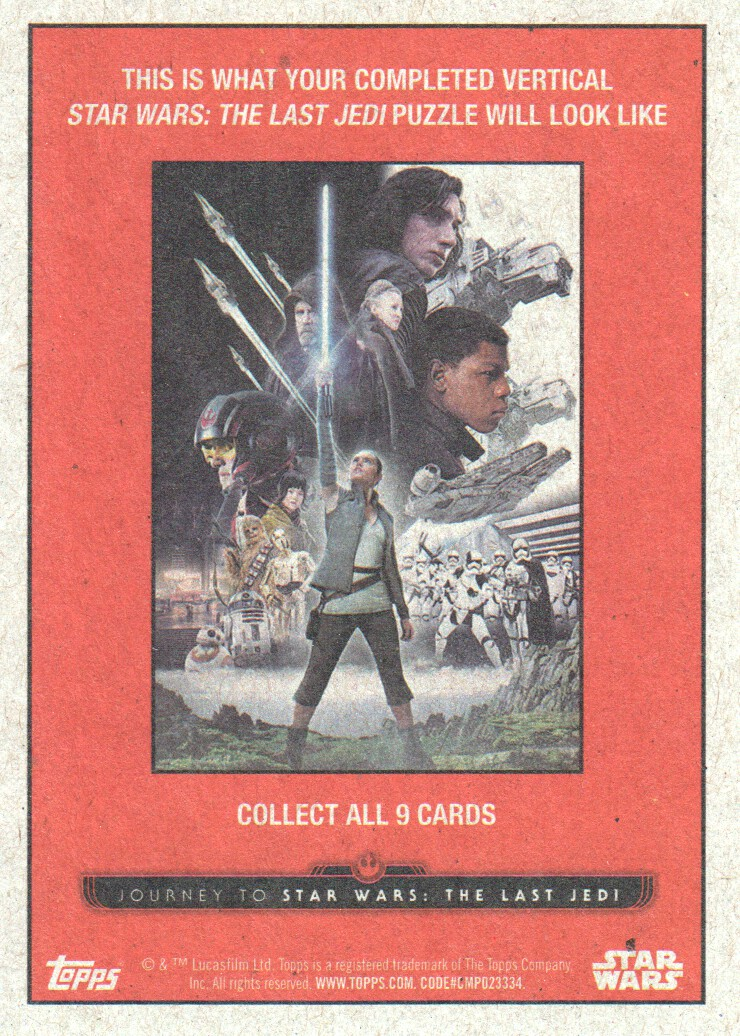 2017-Topps-Star-Wars-Journey-to-The-Last-Jedi-Trading-Cards-Pick-From-List miniature 199
