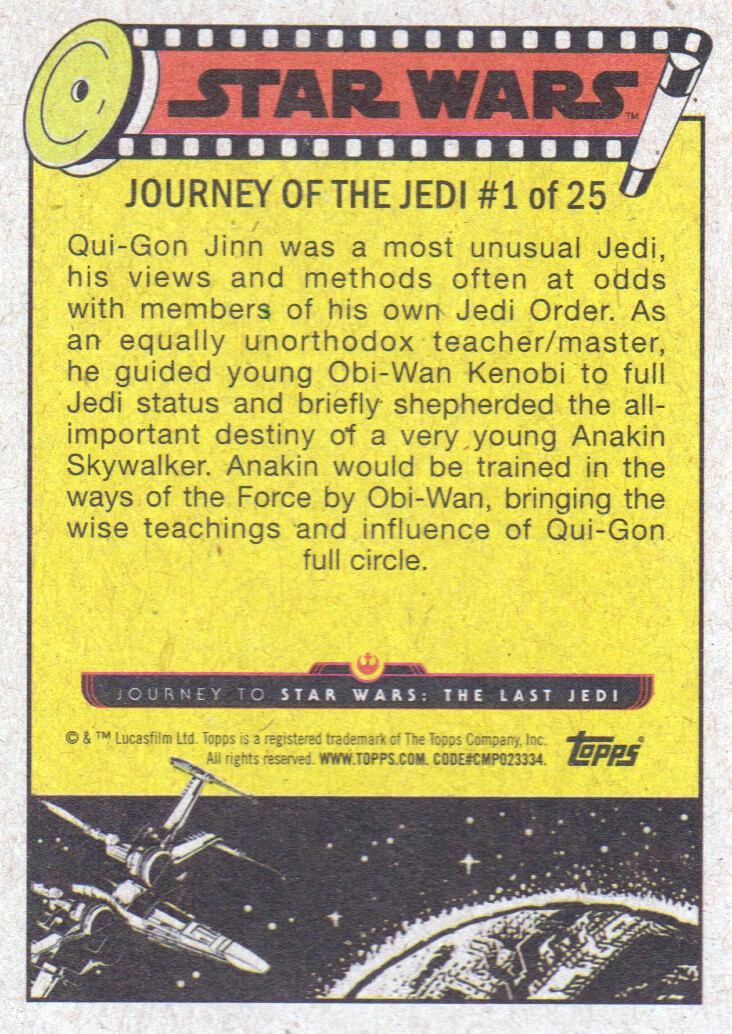 2017-Topps-Star-Wars-Journey-to-The-Last-Jedi-Trading-Cards-Pick-From-List miniature 317