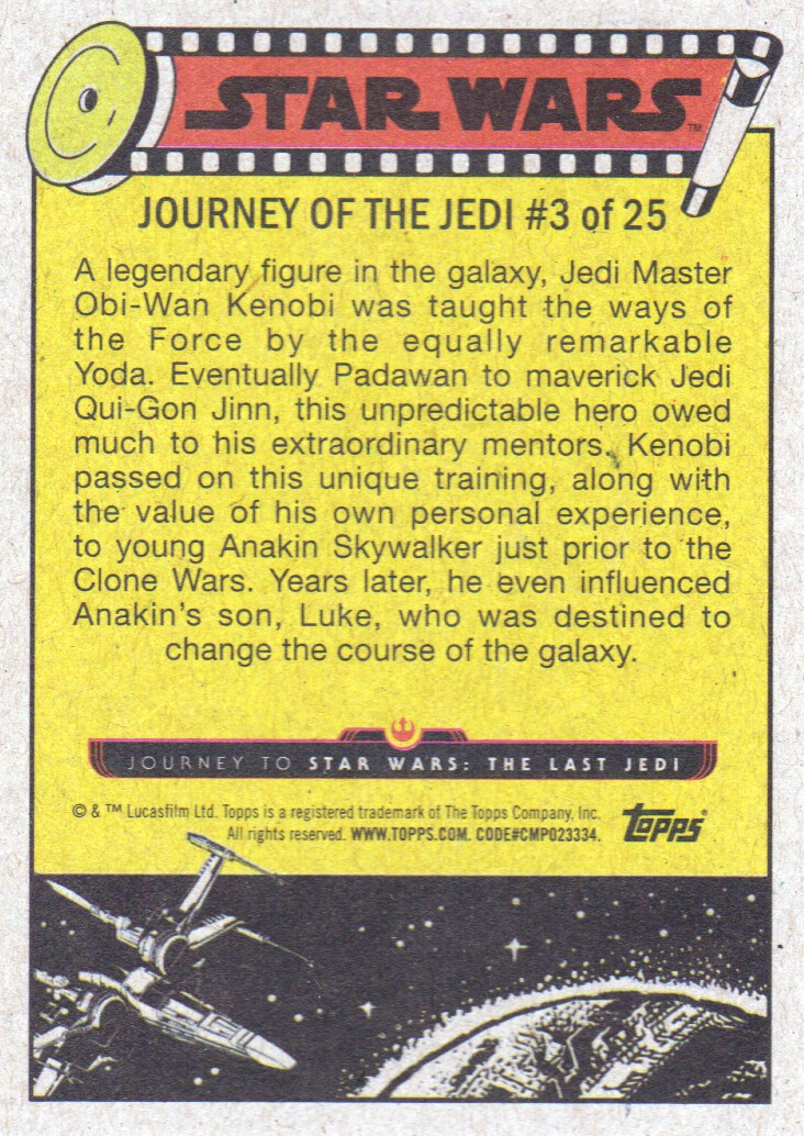 2017-Topps-Star-Wars-Journey-to-The-Last-Jedi-Trading-Cards-Pick-From-List miniature 319