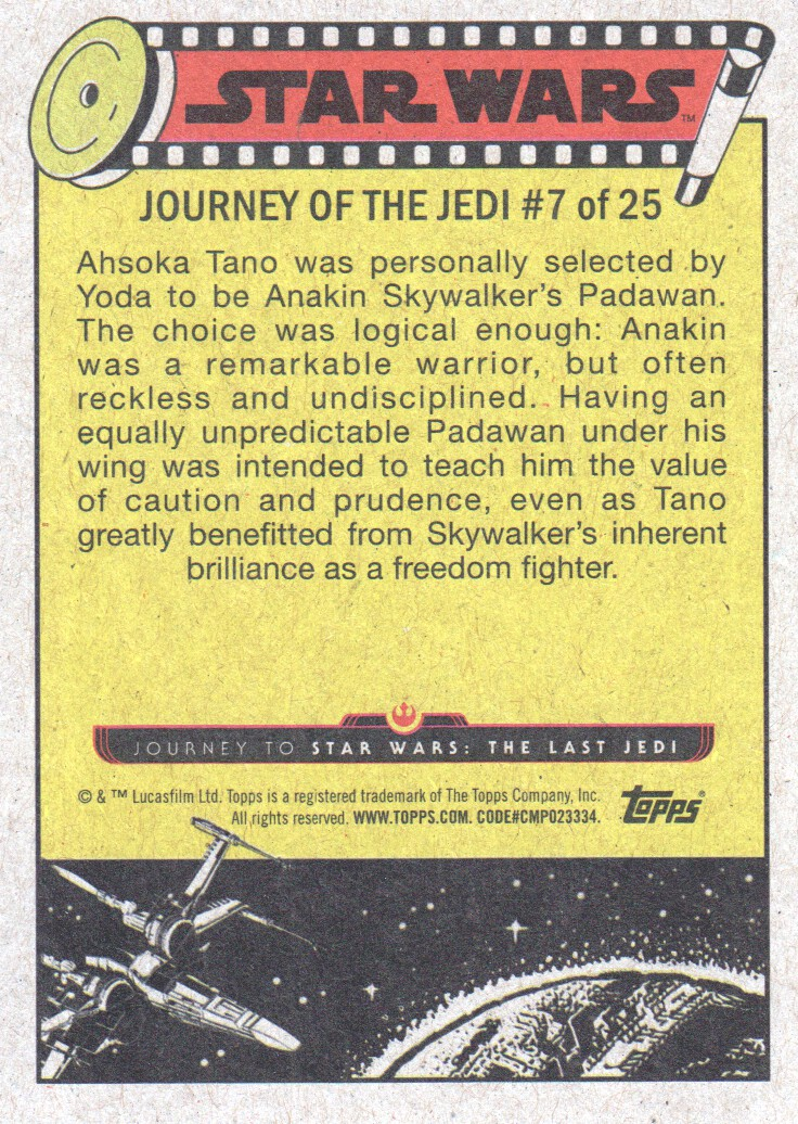 2017-Topps-Star-Wars-Journey-to-The-Last-Jedi-Trading-Cards-Pick-From-List miniature 321