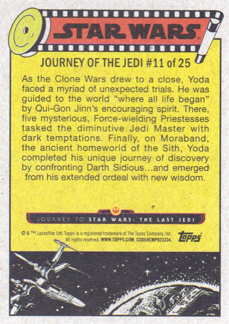 2017-Topps-Star-Wars-Journey-to-The-Last-Jedi-Trading-Cards-Pick-From-List miniature 323
