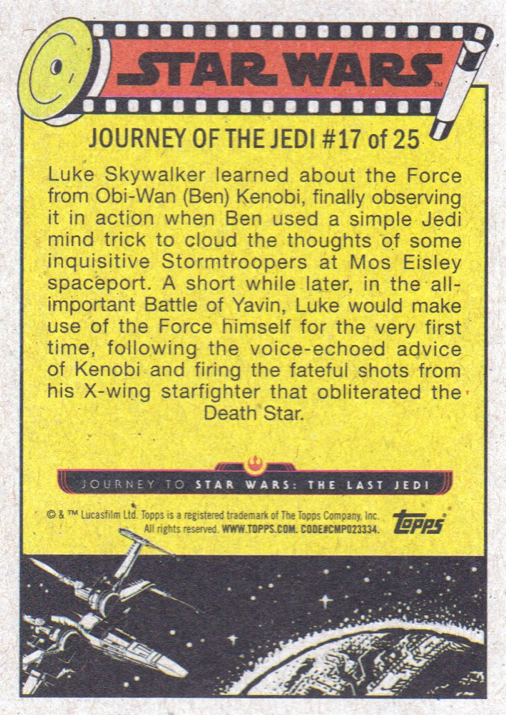 2017-Topps-Star-Wars-Journey-to-The-Last-Jedi-Trading-Cards-Pick-From-List miniature 327