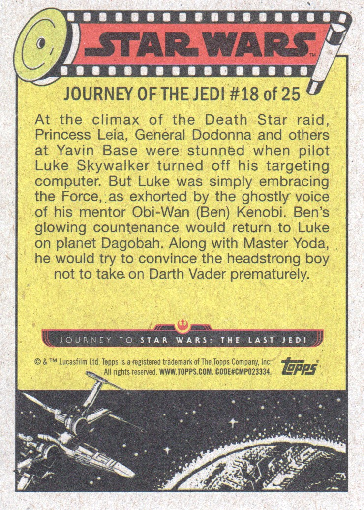 2017-Topps-Star-Wars-Journey-to-The-Last-Jedi-Trading-Cards-Pick-From-List miniature 329