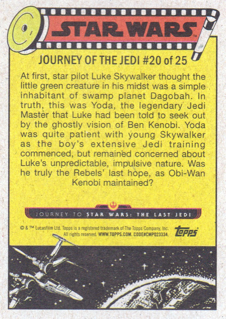 2017-Topps-Star-Wars-Journey-to-The-Last-Jedi-Trading-Cards-Pick-From-List miniature 331