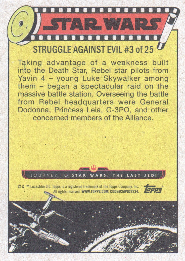 2017-Topps-Star-Wars-Journey-to-The-Last-Jedi-Trading-Cards-Pick-From-List miniature 333