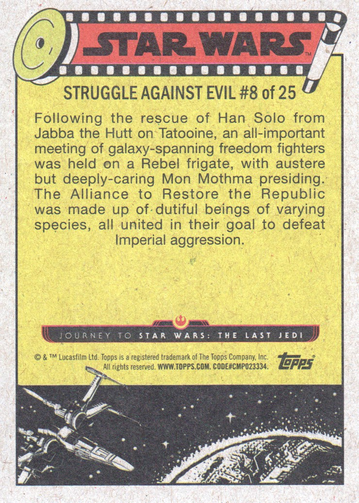 2017-Topps-Star-Wars-Journey-to-The-Last-Jedi-Trading-Cards-Pick-From-List miniature 337
