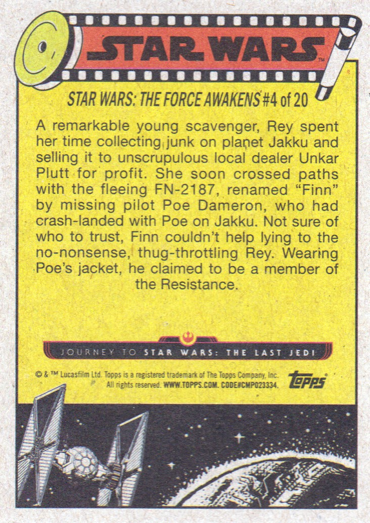2017-Topps-Star-Wars-Journey-to-The-Last-Jedi-Trading-Cards-Pick-From-List miniature 381