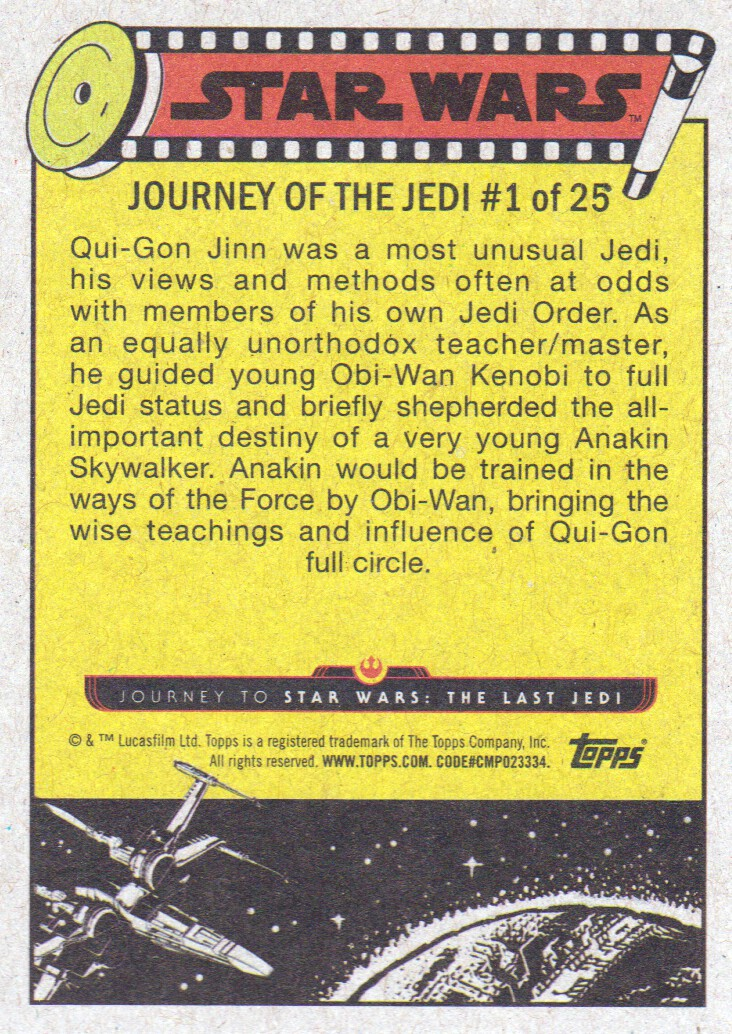 2017-Topps-Star-Wars-Journey-to-The-Last-Jedi-Trading-Cards-Pick-From-List miniature 221