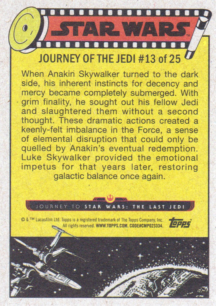 2017-Topps-Star-Wars-Journey-to-The-Last-Jedi-Trading-Cards-Pick-From-List miniature 229
