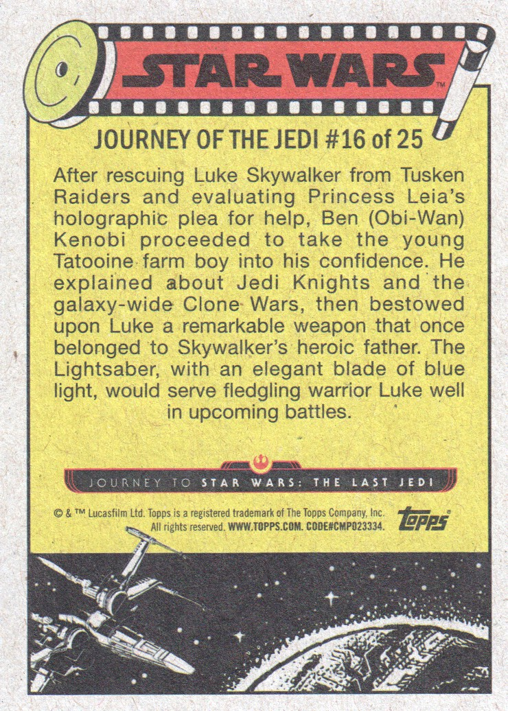 2017-Topps-Star-Wars-Journey-to-The-Last-Jedi-Trading-Cards-Pick-From-List miniature 231