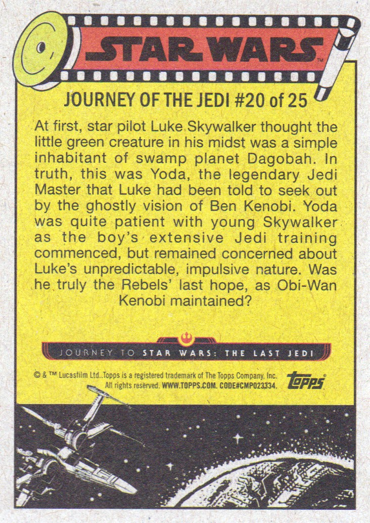 2017-Topps-Star-Wars-Journey-to-The-Last-Jedi-Trading-Cards-Pick-From-List miniature 233