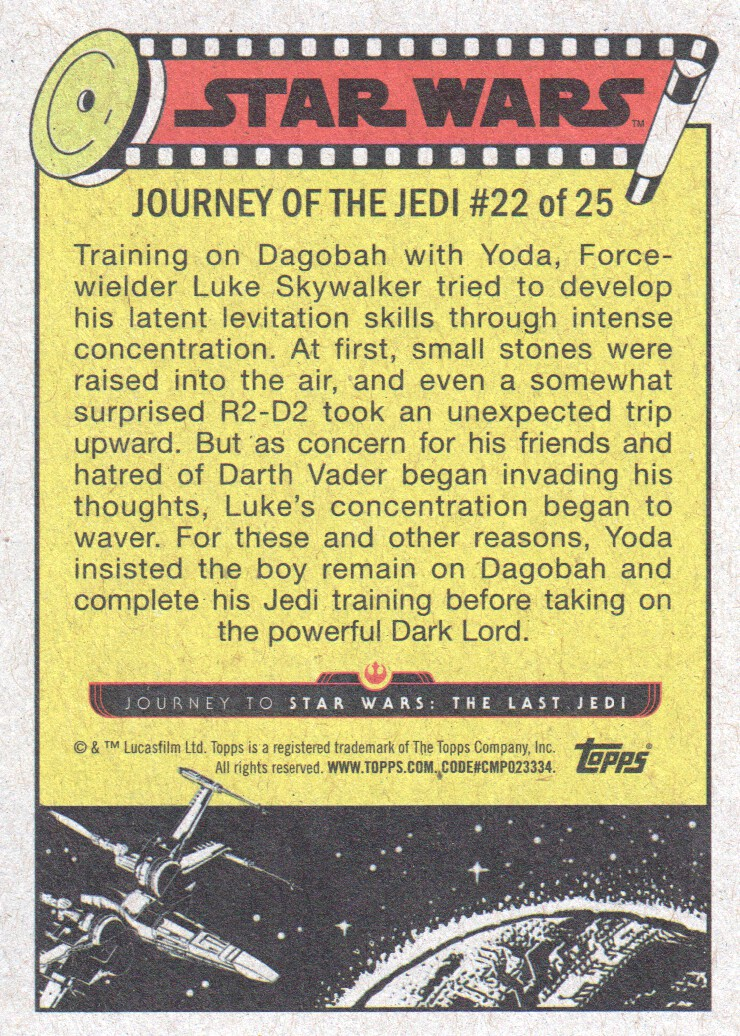 2017-Topps-Star-Wars-Journey-to-The-Last-Jedi-Trading-Cards-Pick-From-List miniature 235