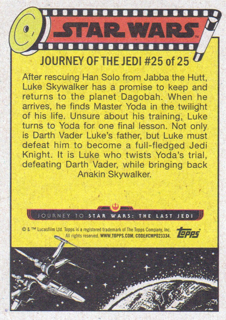2017-Topps-Star-Wars-Journey-to-The-Last-Jedi-Trading-Cards-Pick-From-List miniature 237