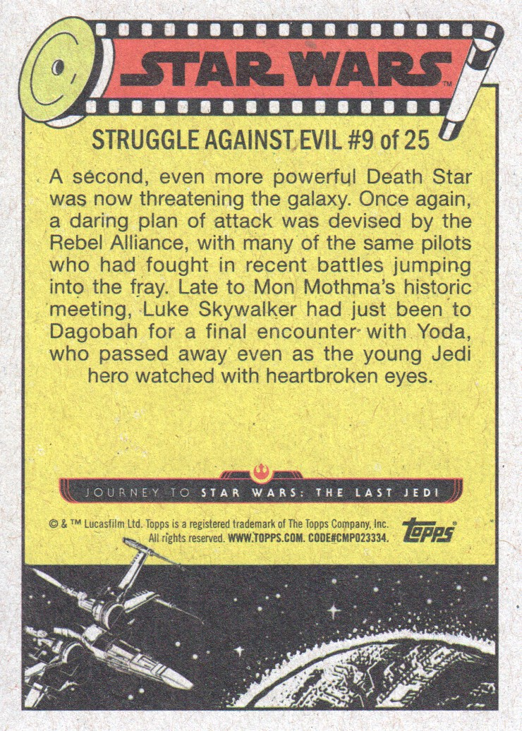 2017-Topps-Star-Wars-Journey-to-The-Last-Jedi-Trading-Cards-Pick-From-List miniature 243